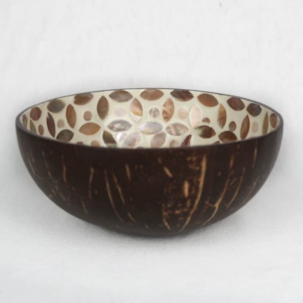 Thale Coconut Bowl Mother of Pearl Pattern