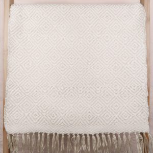 Fay Cotton Placemats Set Creme Tones Hanging